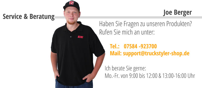 Support Herr Berger