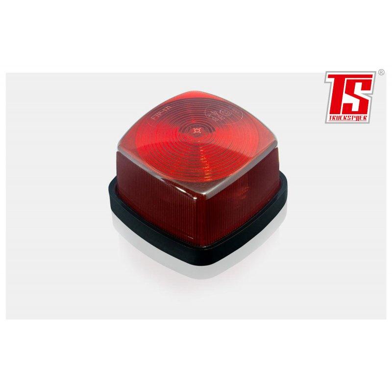 hintere begrenzungsleuchten rot r5w lampe eckig. Black Bedroom Furniture Sets. Home Design Ideas