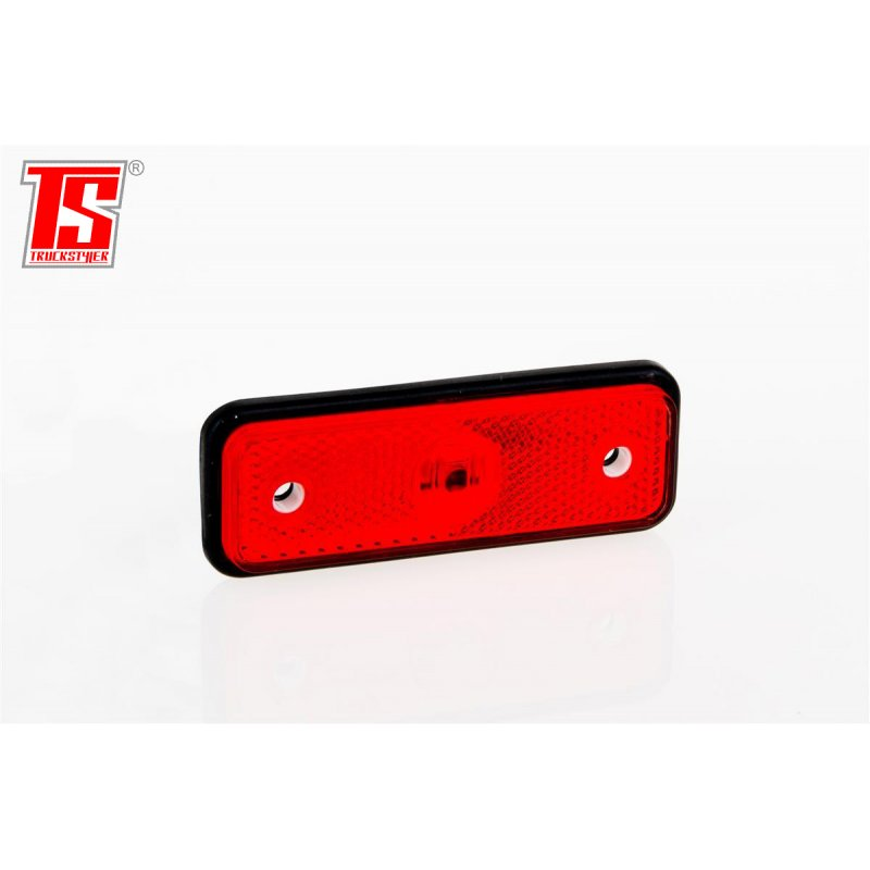 Led Tail Light Clearance Light Small 12 30v Red 6 30