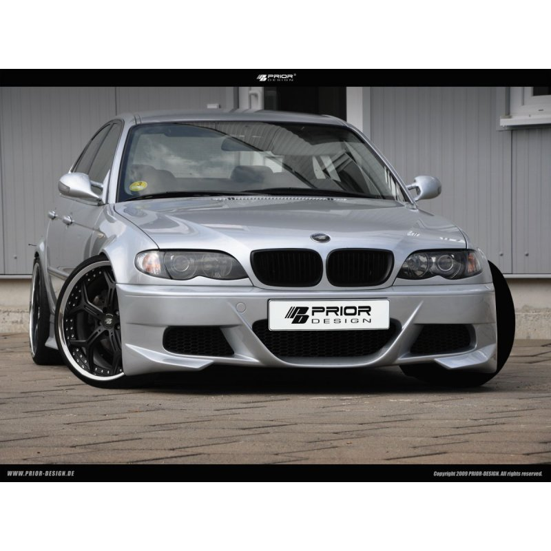 passend f r bmw 3er e46 limousine prior design. Black Bedroom Furniture Sets. Home Design Ideas