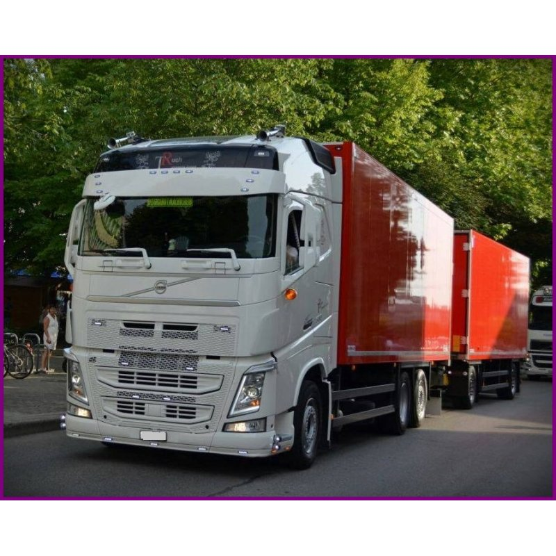 fits volvo fh4 sunshade white version 2 with ramp. Black Bedroom Furniture Sets. Home Design Ideas