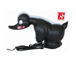 Rubber Duck, Duck Turbo cult duck with LED lighting, black