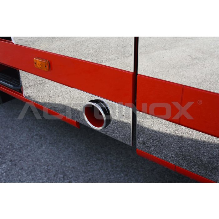 Fits Iveco *: Stralis HiWay exhaust pipe tail round,...