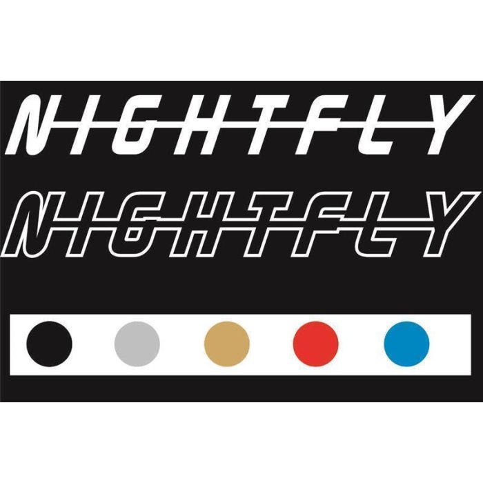 Aufkleber Decal NIGHTFLY