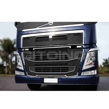 Fits Volvo*: FH4 (2013-...) stainless steel front mask...
