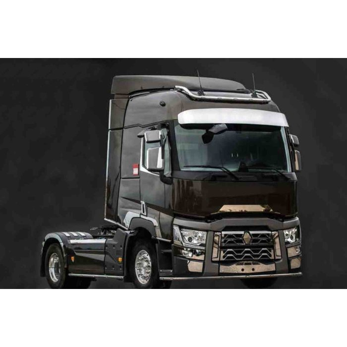 Fits Renault*: T-series (2013-...) - stainless steel tubes - lower edge of the cabin - SLEEPER CAB & HIGH CAB