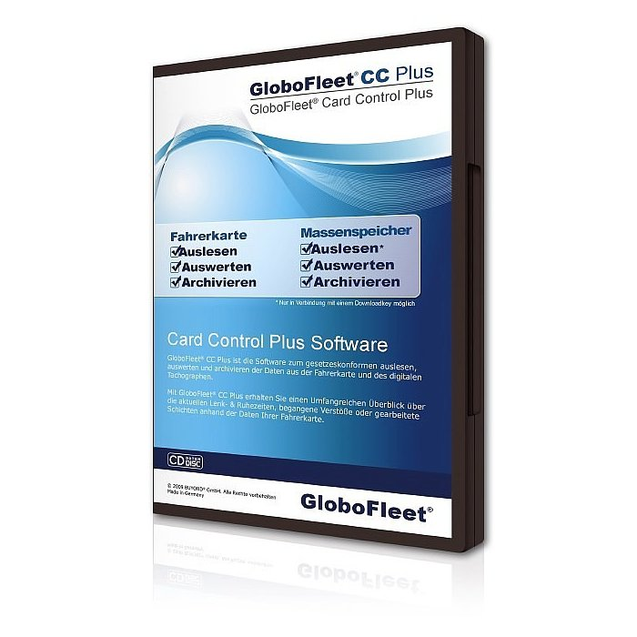 GloboFleet Card Control Plus Software