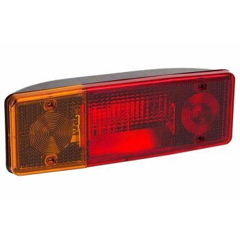 Left multi-chamber tail light, 12V / 24V