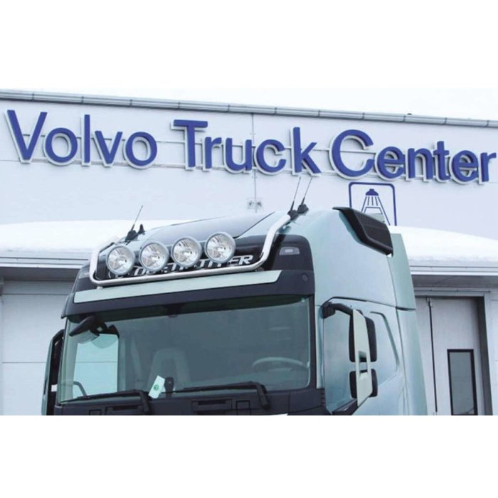 Fits Volvo*: FH4 Roof lamp bracket-short, Globetrotter XL and Year from 2013 steel.