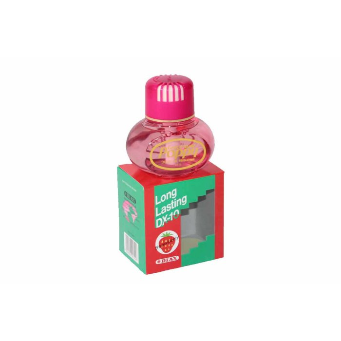 Original Poppy Lufterfrischer 150 ml, Strawberry/Erdbeere